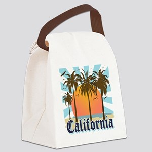 California Light Canvas Lunch Bag