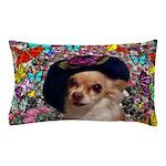 Chi Chi Chihuahua Butterflies Pillow Case