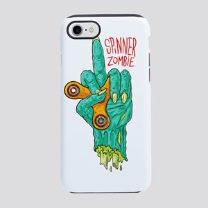 zombie spinner - Fidget spinne iPhone 7 Tough Case