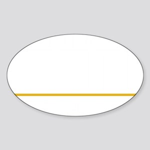 Noonien-Soong-blk Sticker (Oval)
