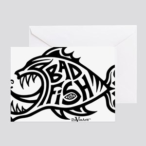 badfish shirt Greeting Card
