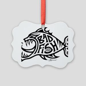 badfish shirt Picture Ornament