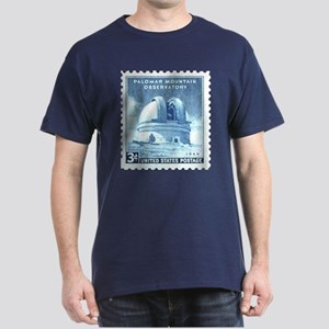Mount Palomar Observatory Black Astronomy T-Shirt