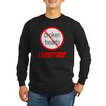 COURTSHIP Long Sleeve Dark T-Shirt