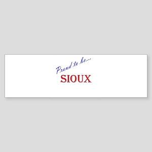 Sioux Bumper Sticker