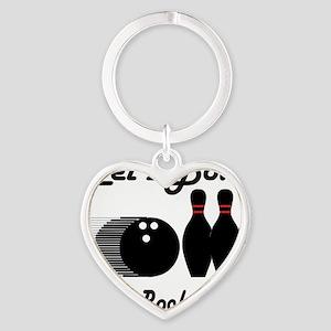 bowl92light Heart Keychain