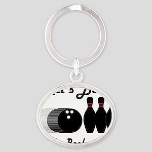 bowl92light Oval Keychain