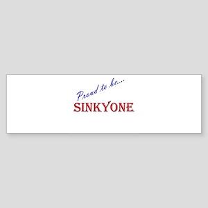 Sinkyone Bumper Sticker
