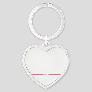 bowl95black Heart Keychain