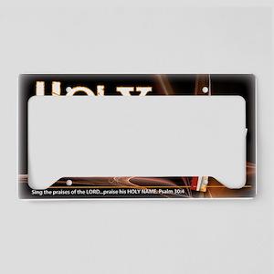holy-name License Plate Holder
