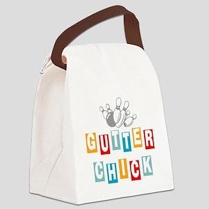 bowl99black Canvas Lunch Bag