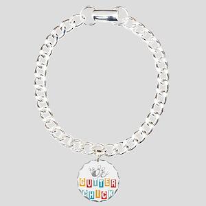 bowl99black Charm Bracelet, One Charm