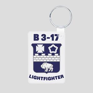 B317 Aluminum Photo Keychain
