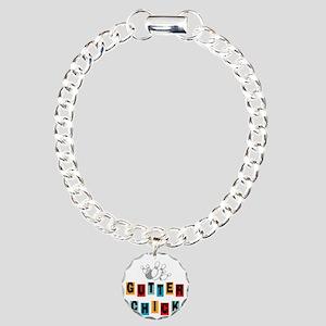 bowl99darknew Charm Bracelet, One Charm