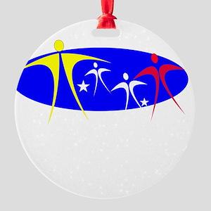 FAMILY1 Round Ornament