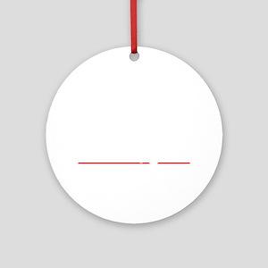 bowl96dark Round Ornament
