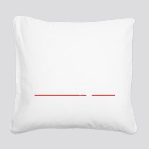 bowl96dark Square Canvas Pillow