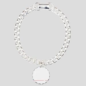 bowl96dark Charm Bracelet, One Charm