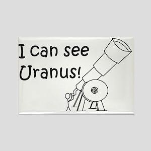 I can see Uranus! Rectangle Magnet