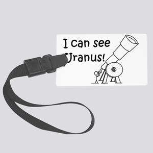 I can see Uranus! Large Luggage Tag