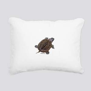 Diamondback Terrapin baby Rectangular Canvas Pillo