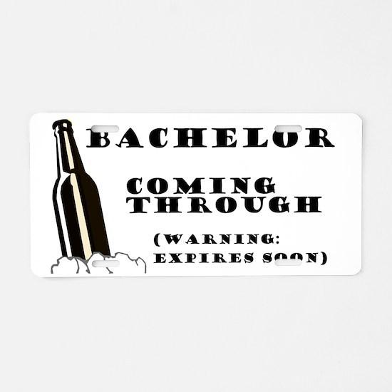 Beer-Bottle Aluminum License Plate