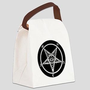 satan goat pentagram sigil of bap Canvas Lunch Bag