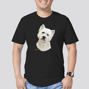 West Highland White Terrier Men's Fitted T-Shirt (