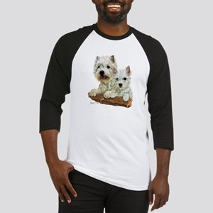 West Highland White Terrier Baseball Jersey