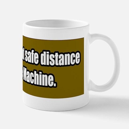 Time-Machine-Bumper-Sticker Mug