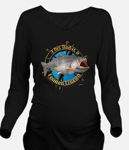 Dad the legend Long Sleeve Maternity T-Shirt