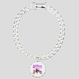SUPER STAR GYMNAST Charm Bracelet, One Charm