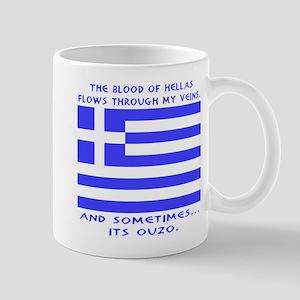 Blood of Hellas and Ouzo Mug