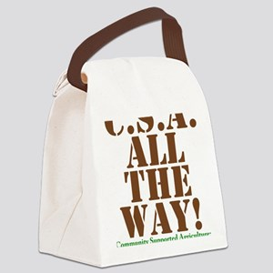 CSA All The Way Canvas Lunch Bag