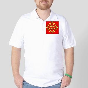 Occitan Sticker Golf Shirt