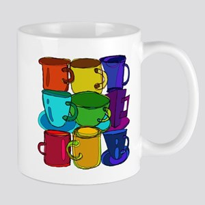 Tea Cups and Coffee Mugs Spectrum Mugs