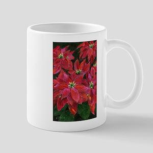 Christmas Poinsettias Mugs