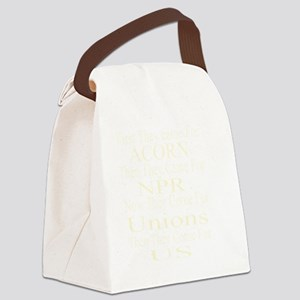 First They Came For  c-w Canvas Lunch Bag