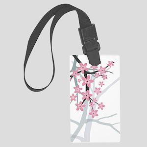 Sakura Large Luggage Tag