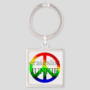 CraigslistJukie2 Square Keychain