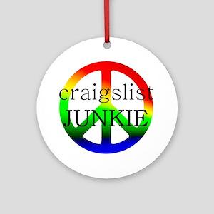 CraigslistJukie2 Round Ornament