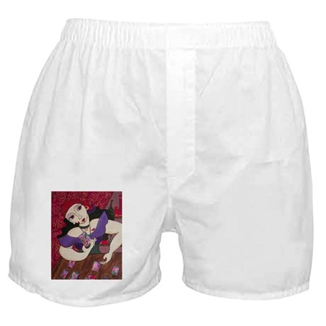 Tarot Card Reader Boxer Shorts