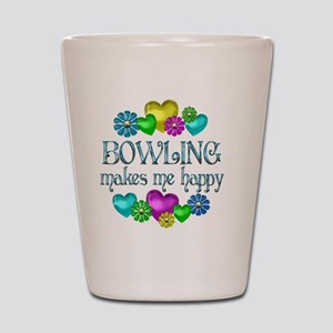 BOWLING Shot Glass