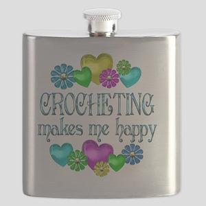 CROCHET Flask