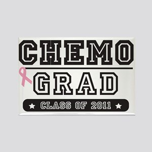 chemogradpink Rectangle Magnet