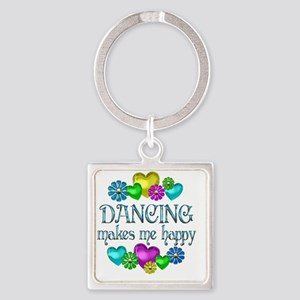 DANCING Square Keychain