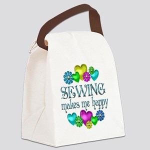 SEWING Canvas Lunch Bag