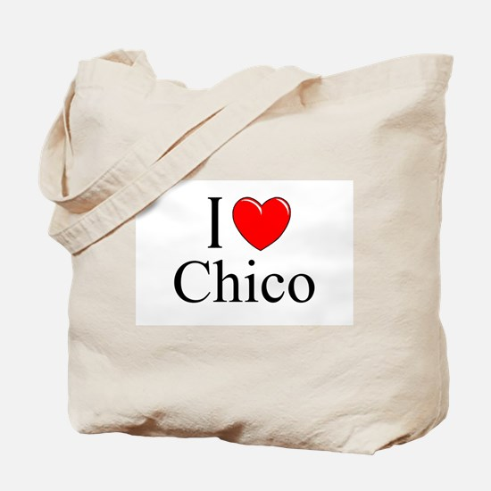 """I Love Chico"" Tote Bag"