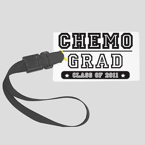 chemoyellowribbon Large Luggage Tag
