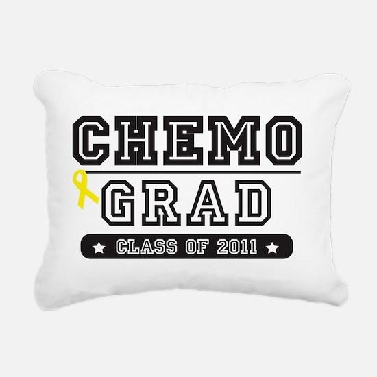 chemoyellowribbon Rectangular Canvas Pillow
